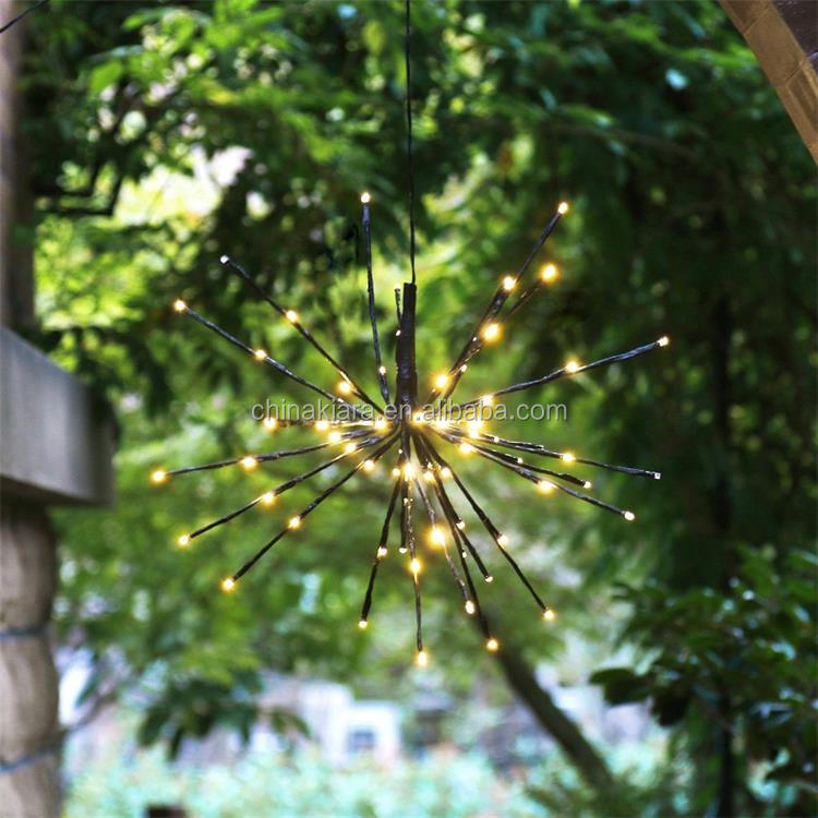 Factory Supply Home Decoration Warm White Led Starburst Lighted Branches