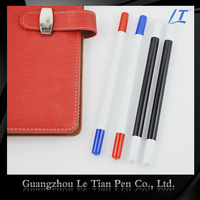 Custom-made New Design Double-end Eco Friendly Plastic Ball Pen For Promotional Gift