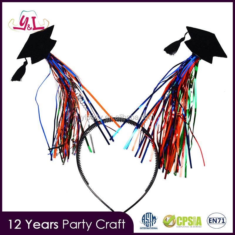 Parties Party Supplies For Wholesale Graduation Headband Cap