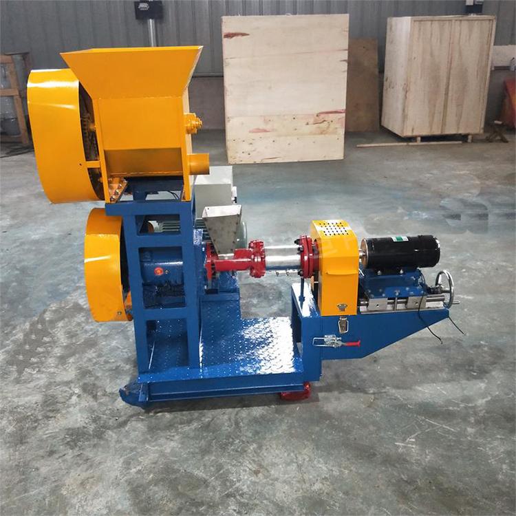 120kg/h dog food making machine, extruder for pet food