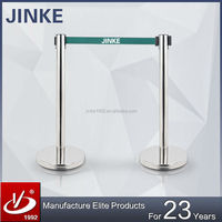 JINKE 2015 New Products!! Queue Safety Barrier / Steel Stanchion Barrier / 3m Retractable Barriers for Events, Banks, Airports