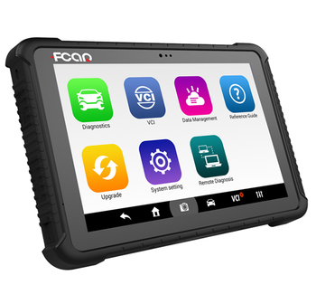 FCAR F6 Plus diagnostic scanner for universal cars and diesel vehicles IP67 waterproof dustproof OBDII EOBD code reader