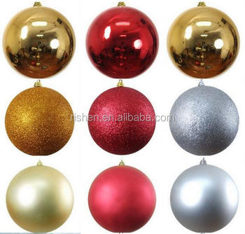 shatterproof plastic decorating christmas ornaments balls 50cm large christmas balls - How To Decorate Christmas Balls