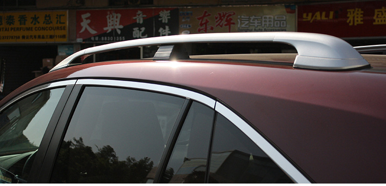 original style for RDX roof bar roof rack rail luggage cross bar,install  with screws,thicken aluminum alloy,best recomended. - us695 25f19099b9c7
