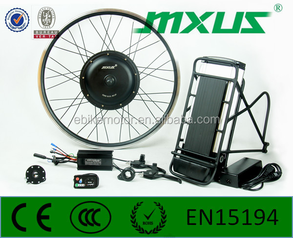 Simple operate 48v 1000w fat tire electric bike kit With Hydraulic Stock Guide