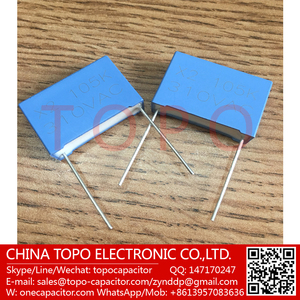 High quality interference mpx/mkp X2 capacitors 2.2UF310VAC 225k, in stock
