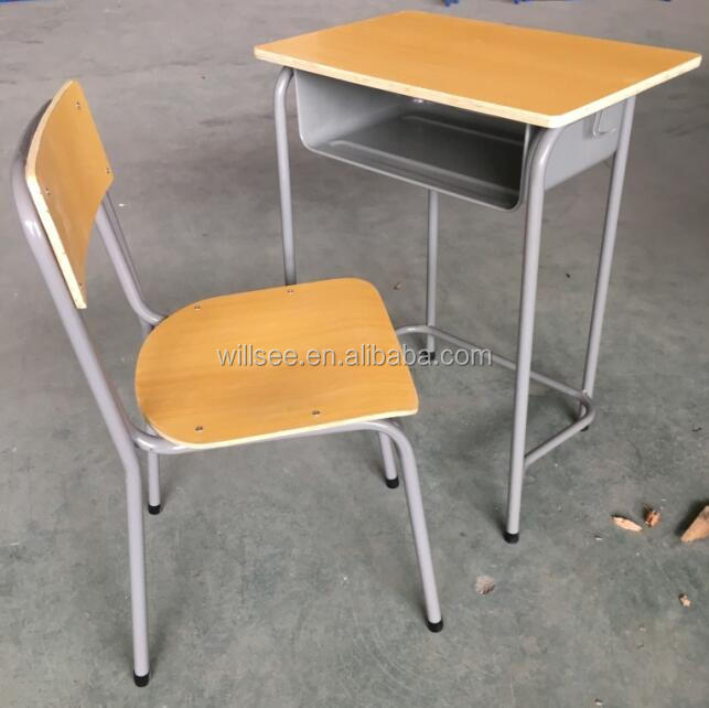 Promotion !!! Fire-proof School table desk and chair set