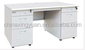 Modern style wooden easy clear school office desk with files cabinet