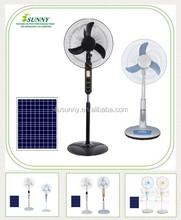 Competitive Price Cooling DC Solar Charging Floor Stand Fan