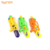 Most popular plastic orange green yellow funny children's water cannon for water park with certificates