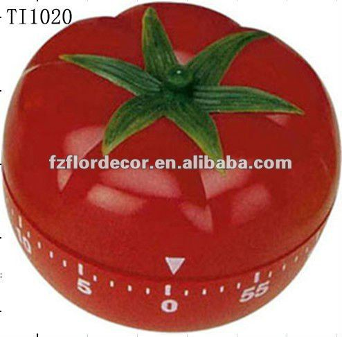 60 minutes vegetable shape kitchen timer