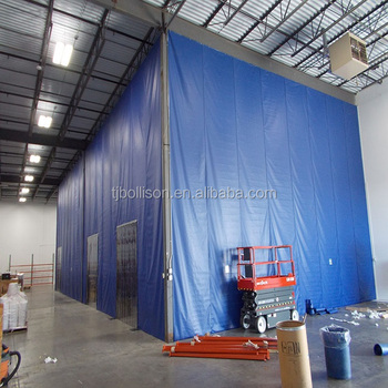 WAREHOUSE DIVIDER CURTAINS COLD STORAGE PLASTIC WALLS