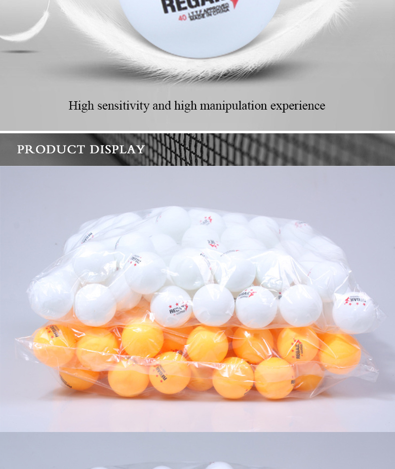 Factory Direct Sale Cheap Price Outdoor Table Tennis Ball