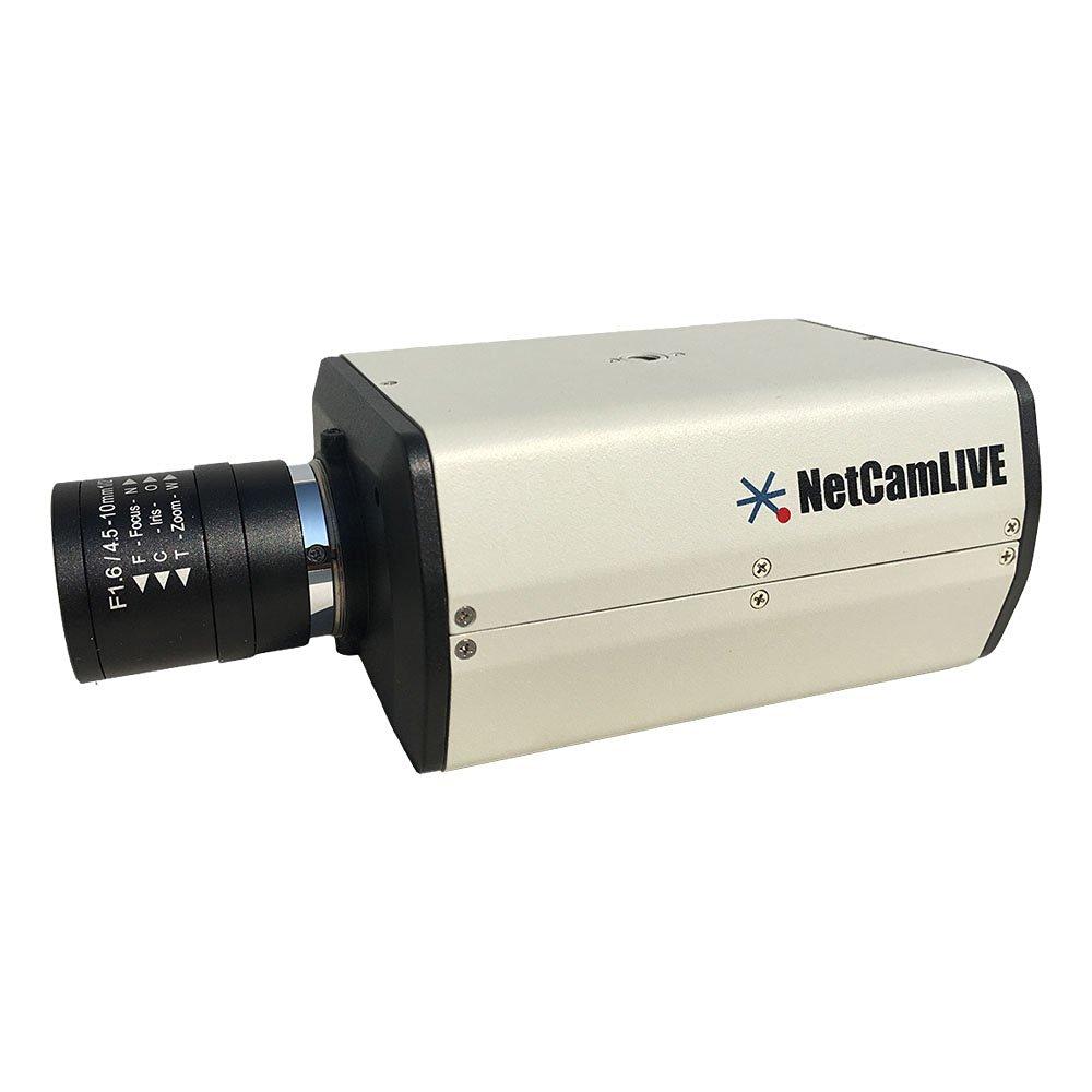 StarDot NETCAM-LIVE-B NetCamLIVE YouTube Live Stream Camera Bundle, Gray