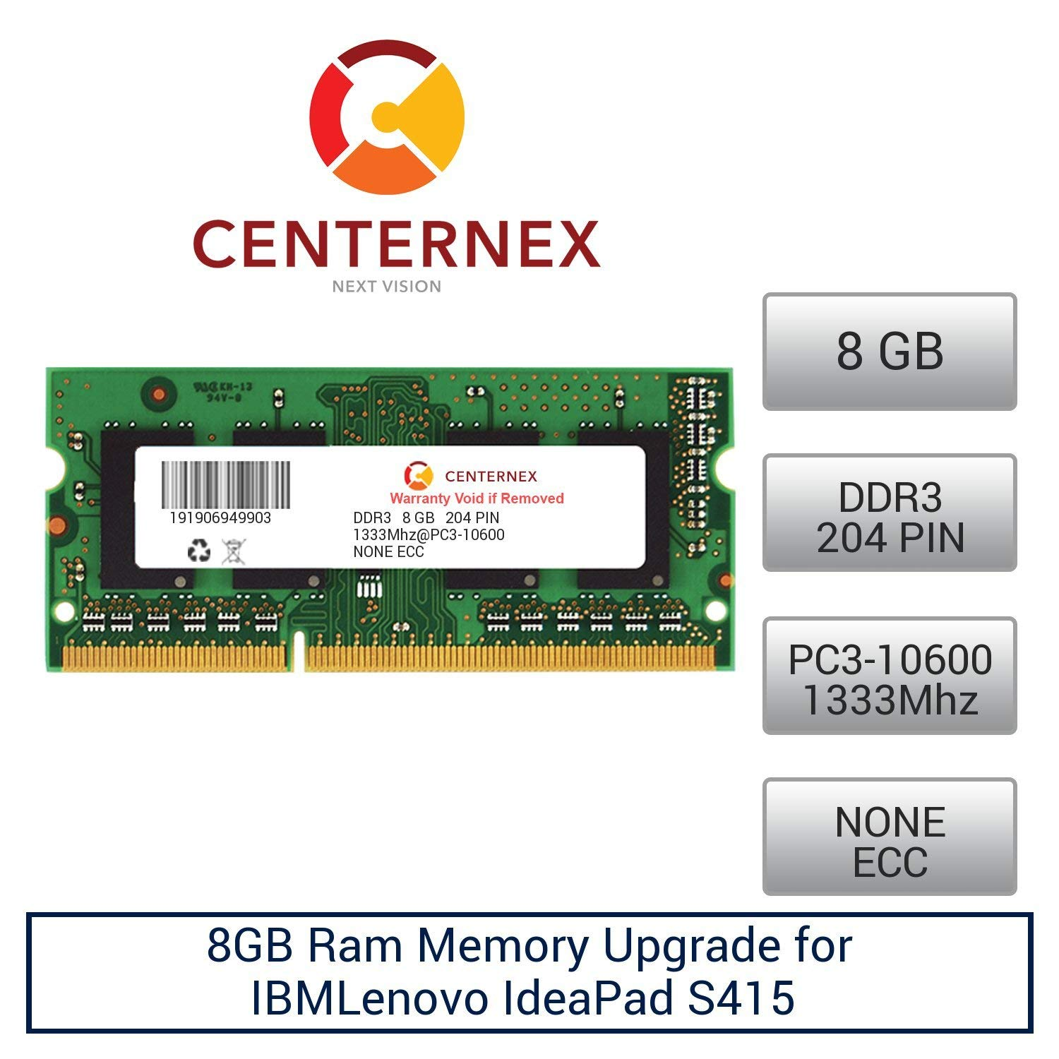 "1X8GB 8GB RAM Memory Compatible with Lenovo Essential G700 17.3/"" Laptop A8"