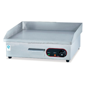 CE commercial stainless steel flat plate electric griddle