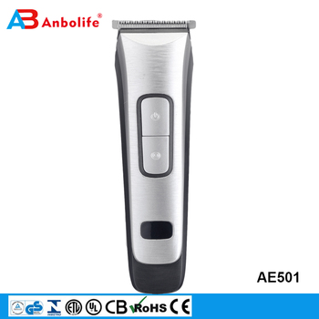 Anbolife new product rechargeable cordless T-blade electric man grooming hair clipper hair beard trimmer