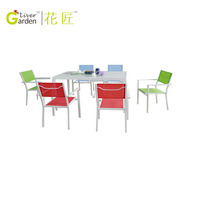 Outdoor furniture sling garden table chairs walmart dining table chairs