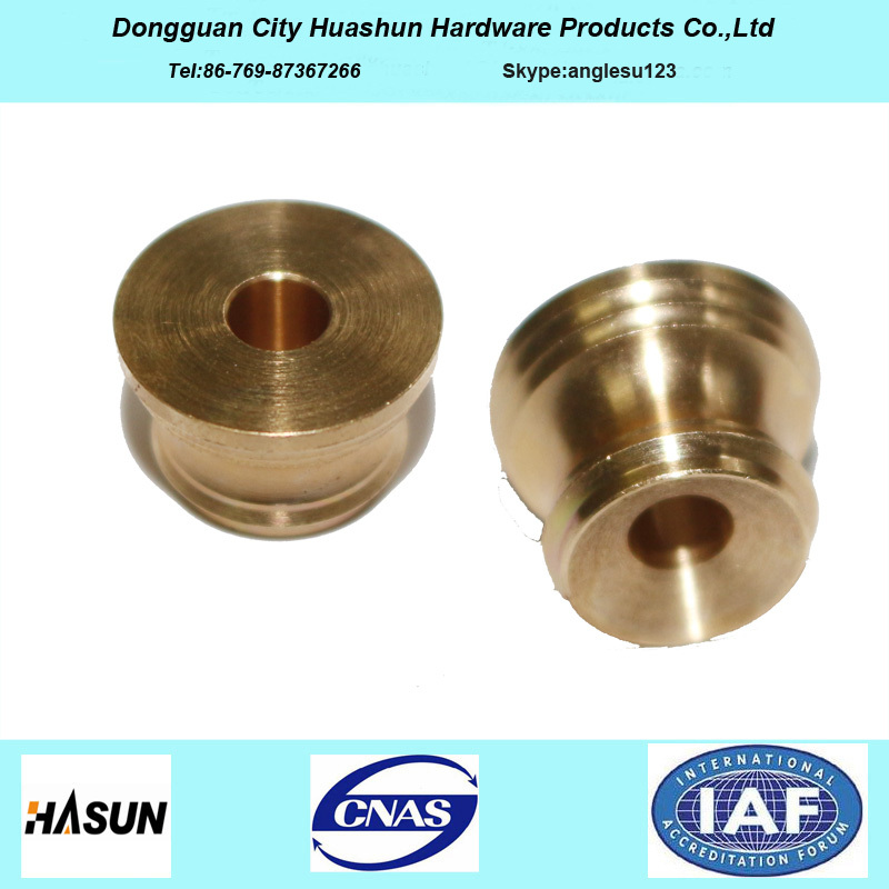 Experienced Factory Direct Sales Brass Precision Parts with Straight Thread