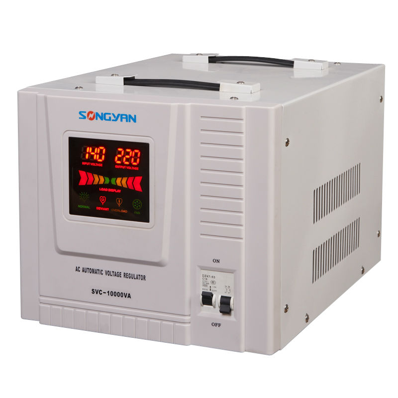 Voltage Stabilizer 10 Kva, ac electric frequency stabilizer, stabilizer microprocessor controlled