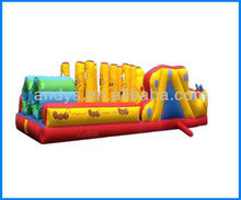 Hot-selling!! fantasy inflatable obstacle games