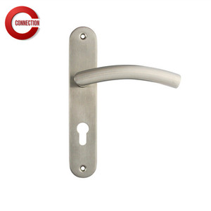 Fancy face plate hande door flush pull handle