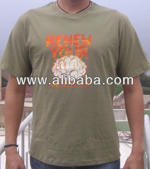 peruvian cotton t-shirts 30/1; 40/1 & 50/1
