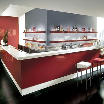 Fabrication Moderne Comptoir Commercialbarre De Réception De Bureau