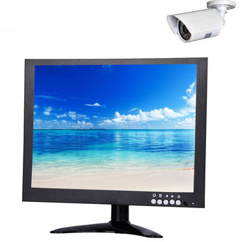 Cheap OEM 9V~36V DC desktop 10 inch security monitor
