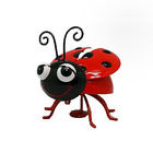 Metal Bee Ladybugs Beetle Promotion Items Cute Fridge Magnet For Home Garden Decoration