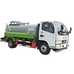 New Dongfeng 4X2 8CBM Water Tank Truck for Road Rushing