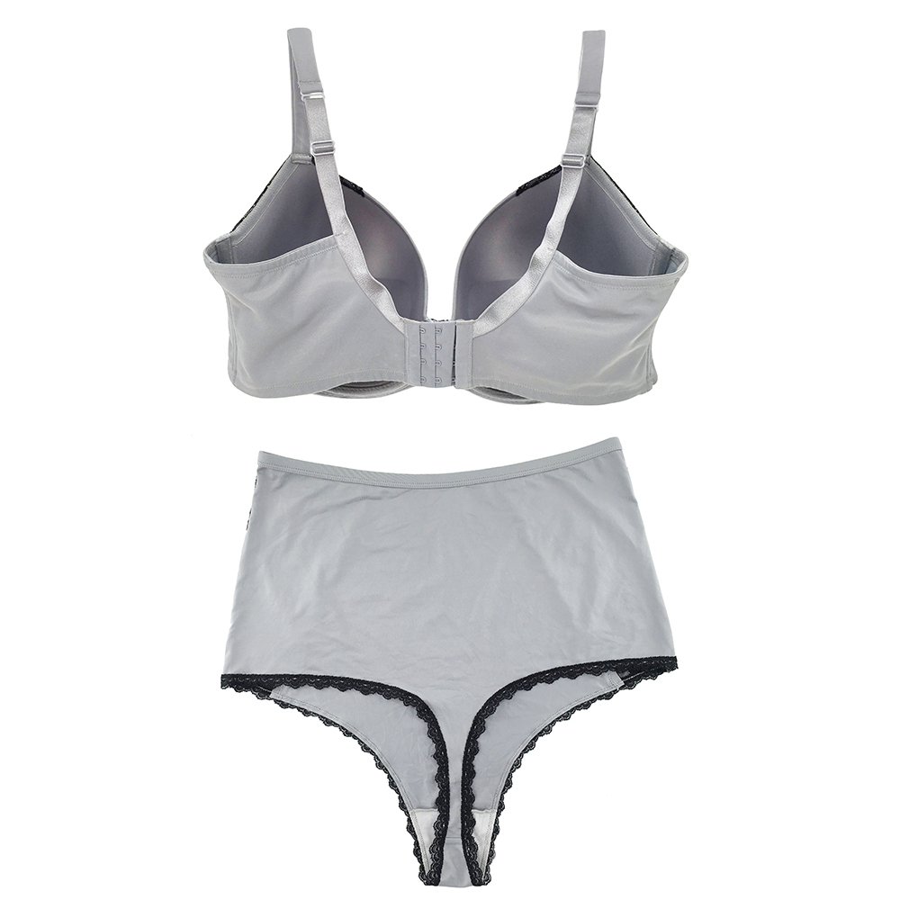 High Quality Push Up Plus Size Bra And Panty Sets