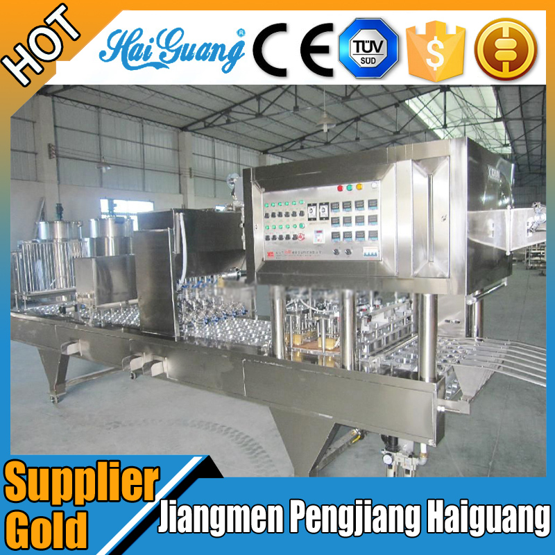 Jiangmen City Prices For Cup Sealer Machine/Ro Water Cup Filling And Sealing Machine