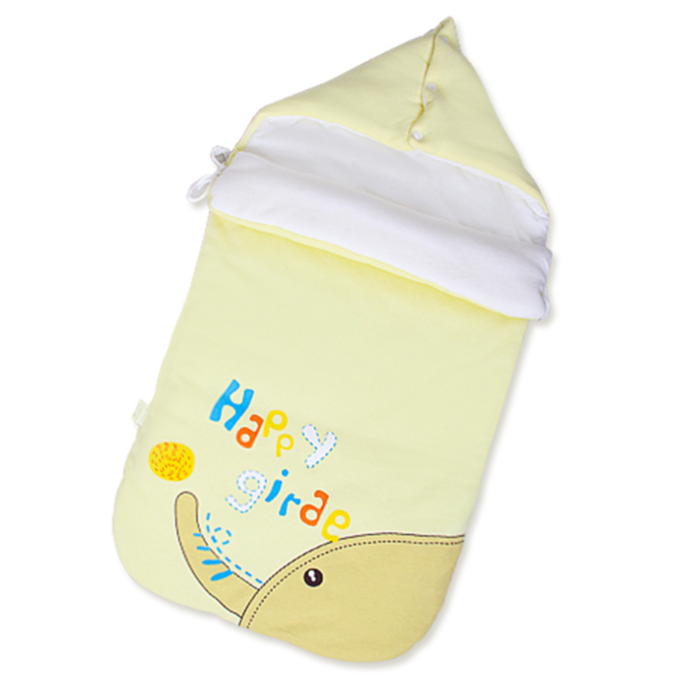 Best selling amazon Hign quality Customized Eco-Friendly cotton New type cartoon printed baby sleeping bag
