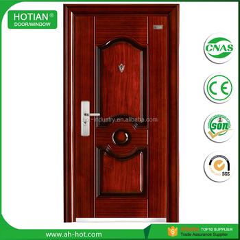 Main Entrance Exterior Low Price Steel Security Door