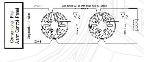 Fire Detection Smoke Detector Sensor Of Fire Alarm Systems