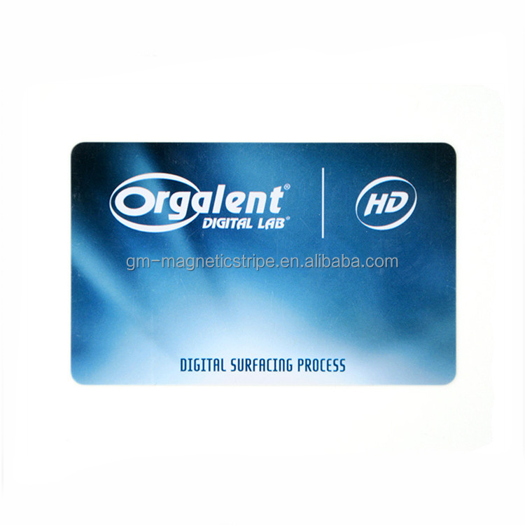 Custom Printing Silver Smart Card For E-payment Produce Blank Pvc Card