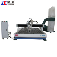 without base machine cnc router engraving advertising cnc router 6090/1212/1218/1224 with pci ncstudio control system 2.2kw