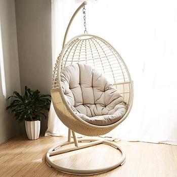 Mid Century Rattan Chair, Modern Outdoor Garden Furniture Wicker Rattan Egg Hanging Indoor Swing Chair With Stand Buy Ayunan Kursi Kursi Kursi Rotan Product On Alibaba Com