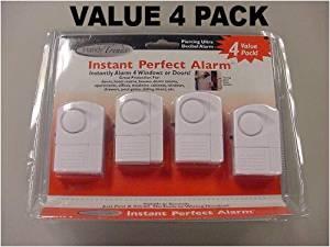 Handy Trends DIY Instant Perfect Window U0026 Door Alarms   Set Of 4