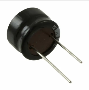 Hot offer low leakage capacitor 10UF 25V 20% Radial aluminum electrolytic capacitor