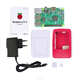 R02 Raspberry pi 3B starter kit rasberries With 5V 2.5A Adapter Charger