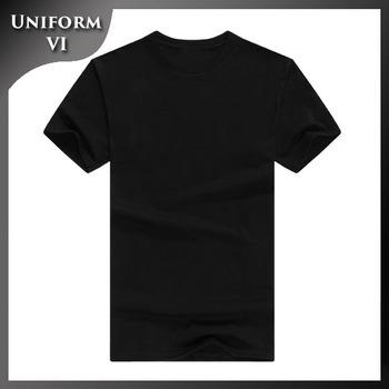 plain put logo name number black cheap round neck slim fit t shirts bulk  stock 9d3f536ad54