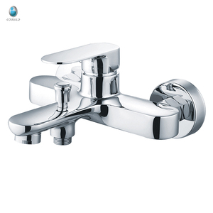 KTM-03 in-stock factory customized wall installation with diverter solid copper watermark upc bathtub faucet