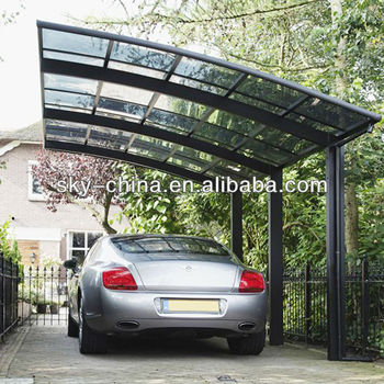 Top Quality Durable Aluminum Car Park Witj Polycarbonate Roof Buy Polycarbonate Car Park Polycarbonate Flat Roof Car Roof Lining Product On Alibaba Com