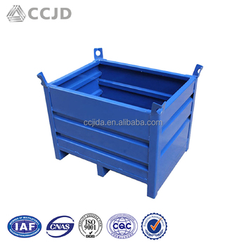 Stackable Solid Steel Sheets Pallet Stillage