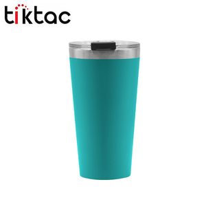 FDA Approved High Quality 18/8 stainless steel Gold Ice Tumbler With Lid and Straw