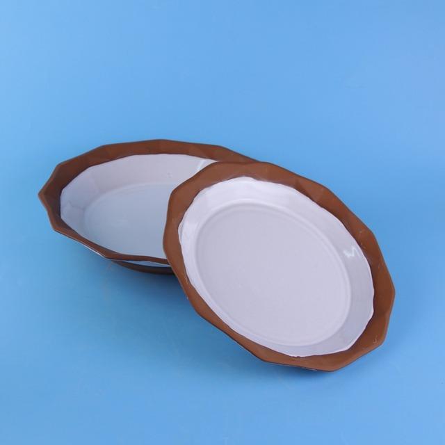 white round modern decorative Terracotta ceramic stoneware plates  sc 1 st  Alibaba & Buy Cheap China modern decorative plates Products Find China modern ...
