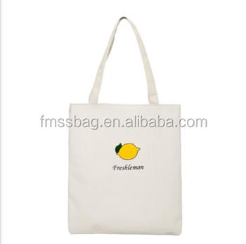 シルクスクリーン印刷ロゴブランク綿トートバッグキャラコ素材