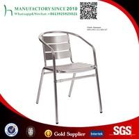 Balcony chair rattan garden cast aluminium dining chair